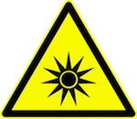 Optical Radiation Exposure Sign